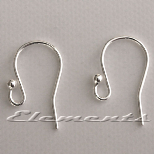 Sterling Silver Earring Ear Fish Hook Wires